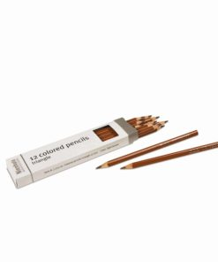 3-Sided Inset Pencil: Light Brown - Nienhuis Montessori