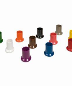 Jeu de 11 pots à crayons colorés - Nienhuis Montessori