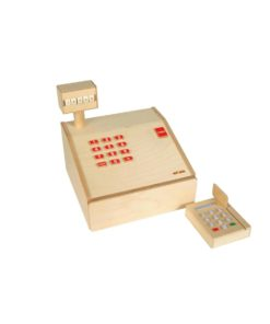 Cash register wood - Educo