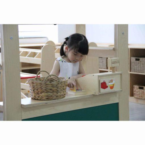 Cash register wood - Educo