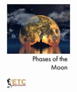 Phases Of The Moon Nomenclature - Nienhuis Montessori