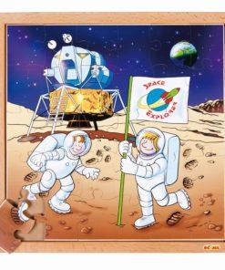 Astronautics puzzle - astronaut - Educo