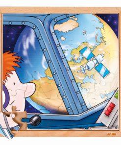 Puzzle astronautique : la terre - Educo