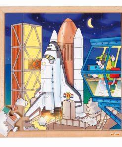 Puzzle astronautique : fusée - Educo