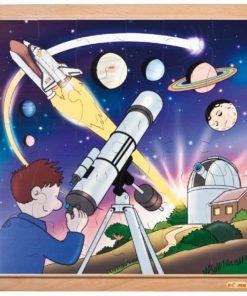 Puzzle astronautique : étoiles et planètes - Educo