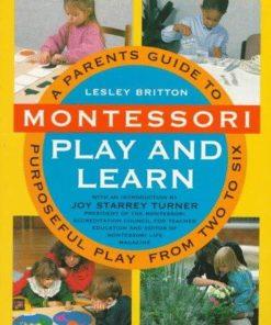 Book- Montessori play and learn - Lesley Britton