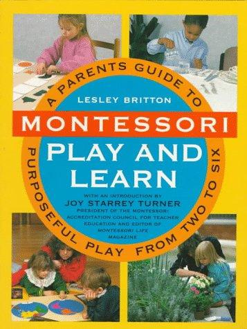 Book- Montessori play and learn - Lesley Britton