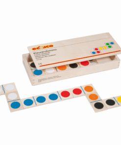 Jouet éducatif en bois Dominos de couleur - Educo