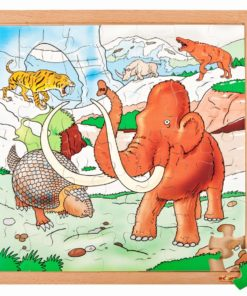 Dino puzzle - in the ice age - Educo