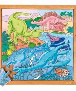 Dino puzzle - in the water - Educo