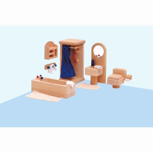 Meubles de maison de poupée: salle de bain - Educo