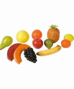 Fruits grand modèle, set de 24 pièces - Educo