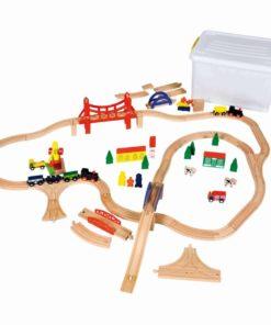 Railway train set - Educo
