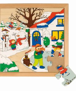 Seasons puzzle 1 - winter - Educo