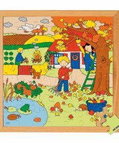 Seasons puzzle 2 - autumn - Educo