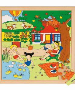 Seasons puzzle 2 - summer - Educo