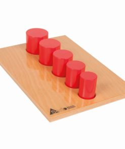 High quality wooden educational toy Serio cylinders - Educo