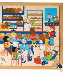 Shopping puzzle  - bakery - Educo