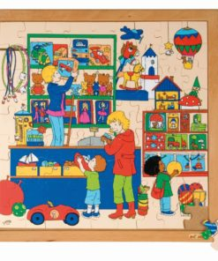Shopping puzzle - toy shop - Educo