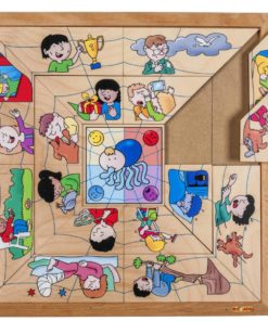 Spider sorting puzzle - emotions - Educo