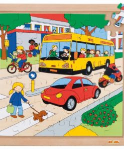 Transport puzzle - traffic - Educo