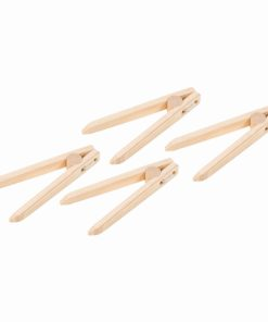 Wooden tweezers: set of 4 - Educo