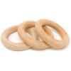 3 small wooden rings Grapat