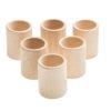 6 cups natural wood – Grapat