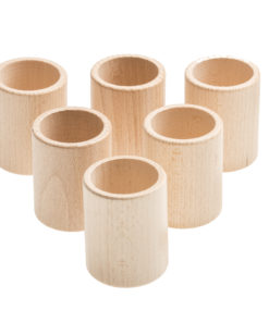 6 cups natural wood – Grapat