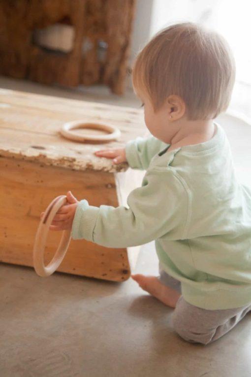 3 large wooden rings - Grapat