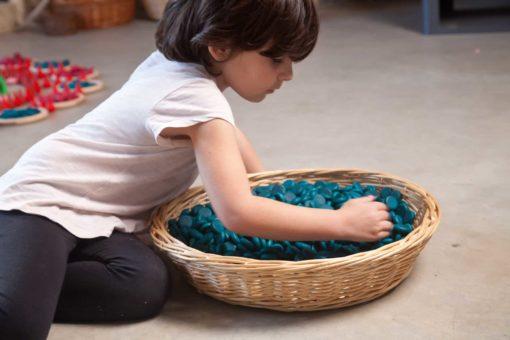Mandala petites pièces bleues - Grapat