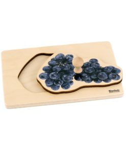 Toddler Puzzle: Grapes - Nienhuis Montessori