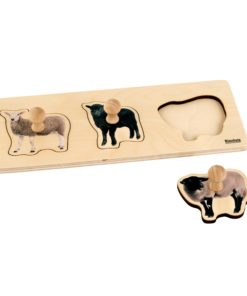 Toddler Puzzle: 3 Sheep - Nienhuis Montessori