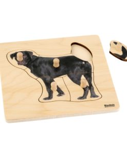 Toddler Puzzle: Dog - Nienhuis Montessori