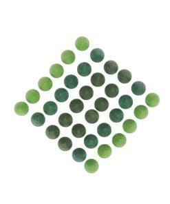 Mandala green trees - Grapat
