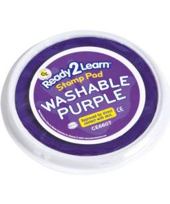 Jumbo washable paint/ink stamp pad: purple – Arts & Crafts