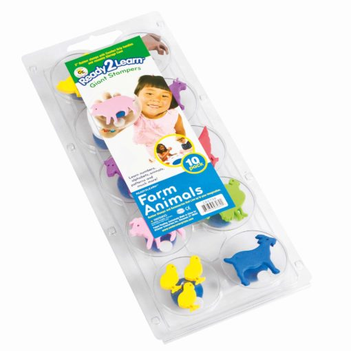 Giant stampers: farm animals - Arts & Crafts