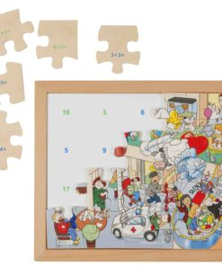 Math puzzle: addition - Educo