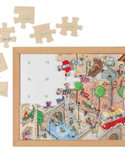 Math puzzle: addition and subtraction 2 - Educo