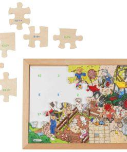 Math puzzle- subtraction - Educo