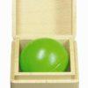 Balle musicale : vert clair - SINA Spielzeug