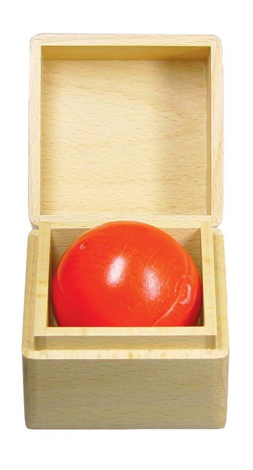 Balle musicale : rouge - SINA Spielzeug