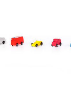 Handmade sustainable wooden toy cars and vehicles SINA Vehicles: selection 1 - SINA Spielzeug