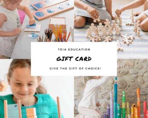 Teia Education Gift Card