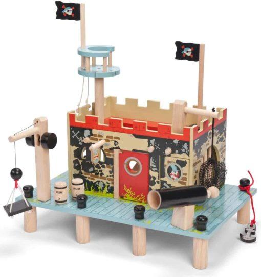 Wooden pretend play toy Buccaneer's Pirate Fort - Le Toy Van