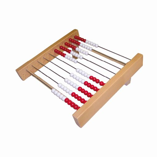 Counting frame:abacus up to 100 - Jegro