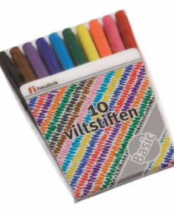 Felt tip pens: pouch of 10 - Arts & Crafts