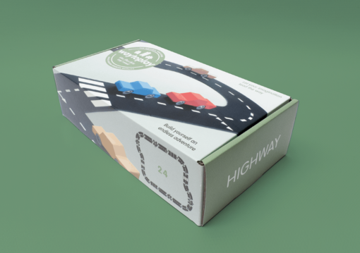 Flexible road parts Highway - Waytoplay