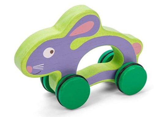 Sustainable wooden push along toy Hunny Bunny - Le Toy Van