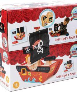 Little Captain Pirate Boat - Le Toy Van
